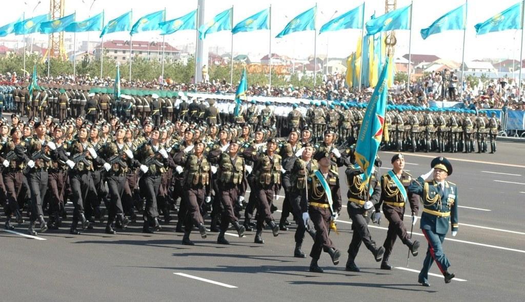 Казахстан увеличивает оборонную мощь